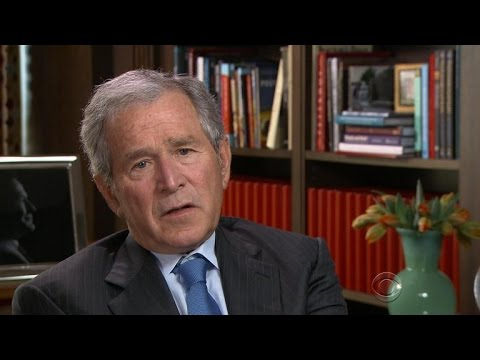 George W. Bush on Saddam Hussein's defiance