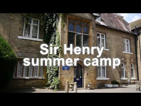 İngiltere Cambridge' de 10-16 yaş içim yaz okulu, Studio Cambridge Sir Henry Programı