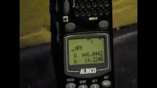Alinco DJ-X2000 Flash tune