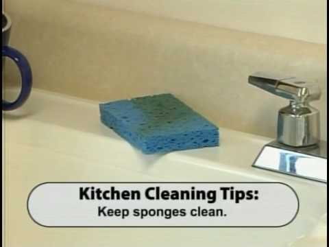 Keeping the Kitchen Clean