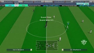 PES 6 ONLINE | 17 vs SupperStar | Gameplay PC #2
