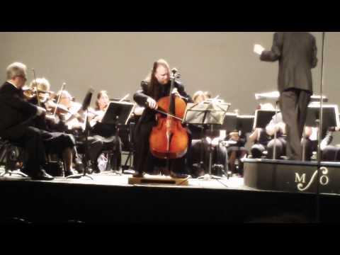 Cellist Jameson Platte Plays The Saint-Saens Concerto In A Minor