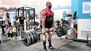 George Leeman - 800lbs Deadlift For 8 Reps thumbnail