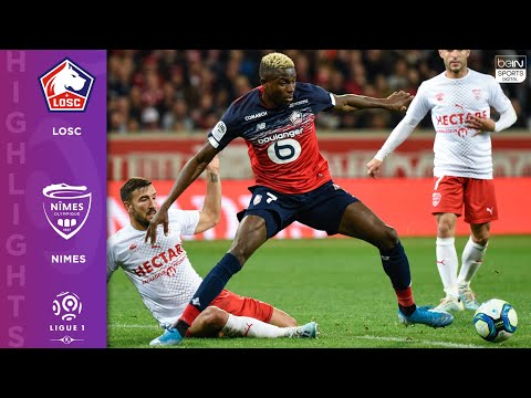 Lille 2-2 Nimes - HIGHLIGHTS & GOALS - 10/6/19