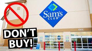 10 Things NOT To Buy At Sams Club
