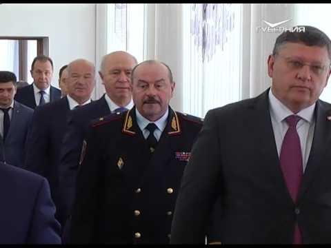 видео: Коллективу областного главка официально представили нового начальника полиции