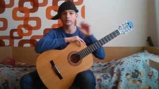 Видео урок по гитаре № 2(черный бумер)