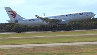 China Eastern Airbus A330-243 [B-8226] | Landing | Brisbane Airport