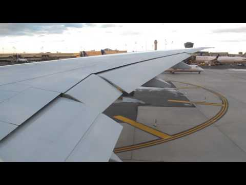 HD Inaugural United Boeing 777-300ER Taxi and Takeoff at Newark