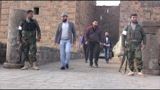 ثوار درعا يحمون الآثار، وداعش يدمرها في حمص