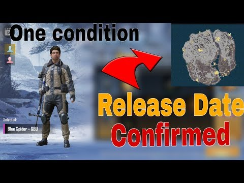 Vikendi Map Release Date Confirmed!! | One Big Condition must watch | Pubg Mobile