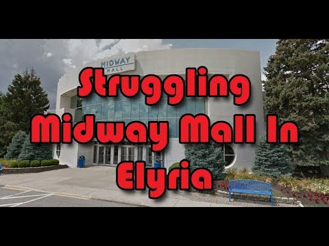 Inside Tour Of Struggling Midway Mall | Elyria, OH
