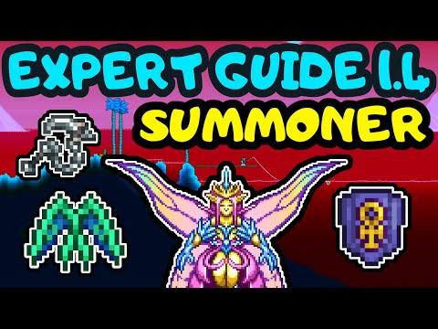 TERRARIA EXPERT SUMMONER PROGRESSION GUIDE 9! Empress Of Light Summoner Guide! Duke Fishron Guide!