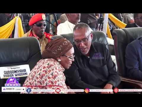 Madaxweynaha Somaliland Oo Daahfuray Mashruuca Tamarta Cadceeda Bacaado Ee Shirkada SOMPOWER.