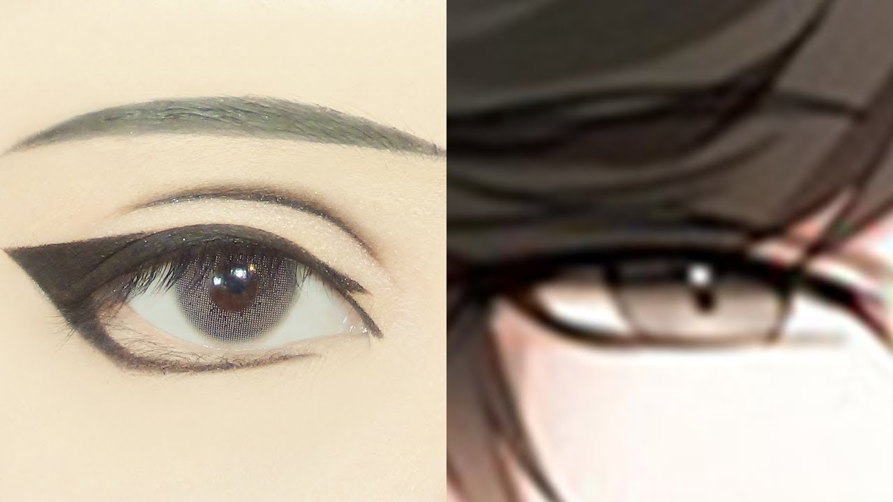 Jumin han tutorial anime eye makeup 265