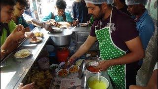 Indian Street Food: Ratalu, Bread Pakoda + Chana, Sweetcorn & Chinese Samosas & Ghughra with Cheese.