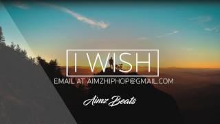 'I Wish' Deep Emotional Piano Rap Beat (Prod. Aimz Beats) Sad Trap Instrumental