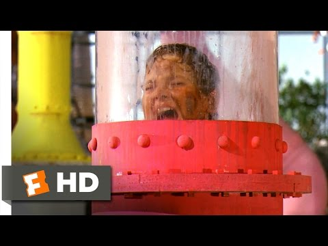 Willy Wonka & the Chocolate Factory - Augustus and the Chocolate River  Scene (5/10) | Movieclips