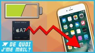 Pourquoi Apple bride t-il les iPhone équipés de vieilles batteries ? DQJMM (1/1)