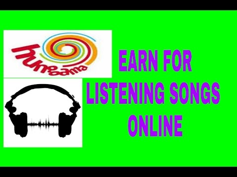 Get Paid To Listen To Music Online   Just Listen your Favourite songs Online