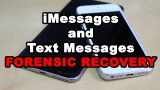 Recovery of  iMessage / SMS / and others on iOS 10.2.1 iPhone