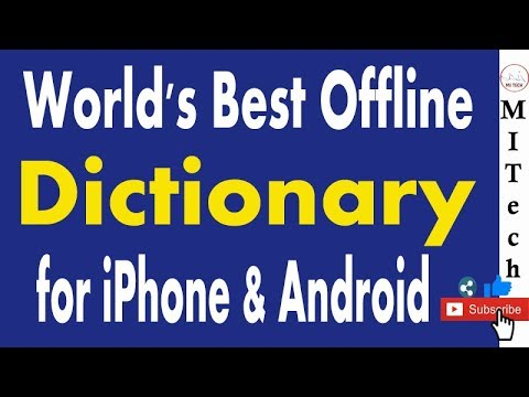 World's Best 🤪 Offline Dictionary for Smartphone | 100% Free|Translate English To Hind