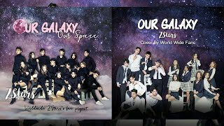 """""""our galaxy, our space"""" global fan project 2019 for z-stars"""