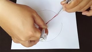 Life Hacks For Pen - 6 Ways To Draw a Circle Without a Compass