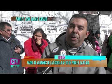CTV Noticias - Aulas vacías en Poblet; La Plata: faltan transportes, les deben 10 meses - PARTE 1