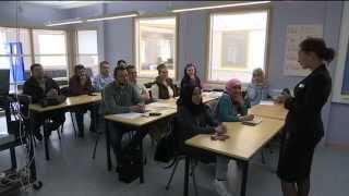 Endast 1 av 8 invandrare har högre utbildning