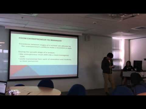 2013 GH's presentation from Unitec 5391 Innovation and and Entrepreneurship class