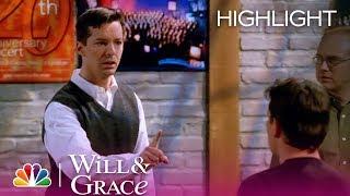 Will & Grace - Let's Hear It for Matt Damon (Highlight)