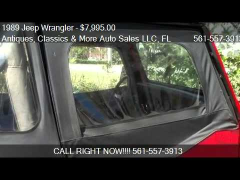 1989 Jeep Wrangler  for sale in West Palm Beach, FL 33411 at