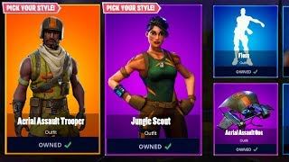 AERIAL ASSAULT TROOPER COMING BACK?! Fortnite RARE Season 1 Skins RETURNING - OG Skin RETURN LEAKED?