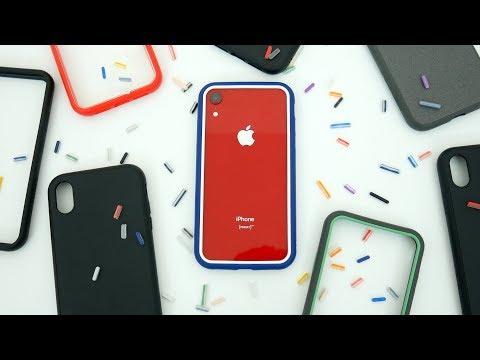 RhinoShield SolidSuit vs CrashGuard NX vs Mod NX Case Comparison for iPhone XR!