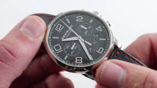 Montblanc Meisterstuck TimeWalker Chronograph Luxury Watch Review