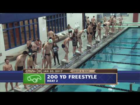 CMNtv Sports - Boys Swim & Dive - Lake Orion vs Royal Oak - Jan 20, 2017