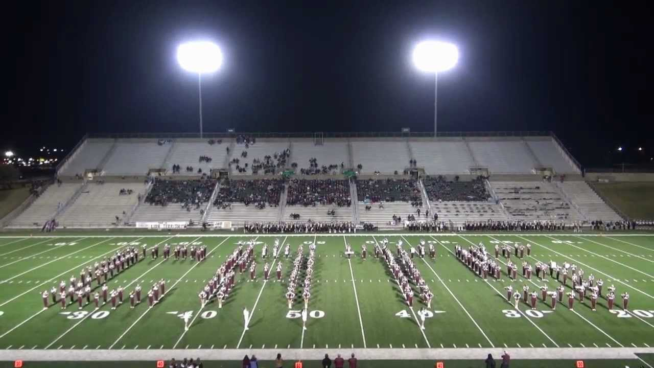 Whitehouse High School Band Halftime Performance Whs Vs