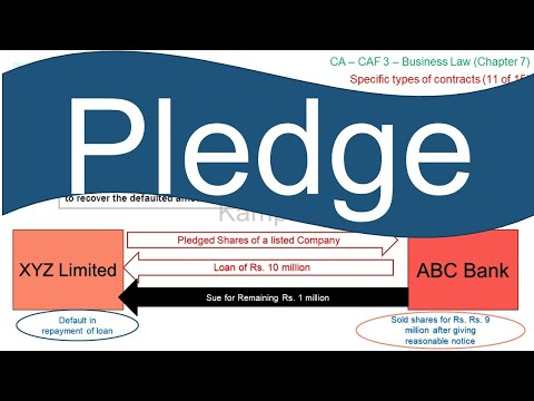 Chapter 7 (Part 11 of 15) – Pledge