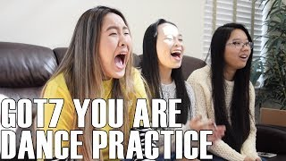 Video GOT7 (갓세븐)- You Are Dance Practice (Reaction Video) download MP3, 3GP, MP4, WEBM, AVI, FLV November 2017