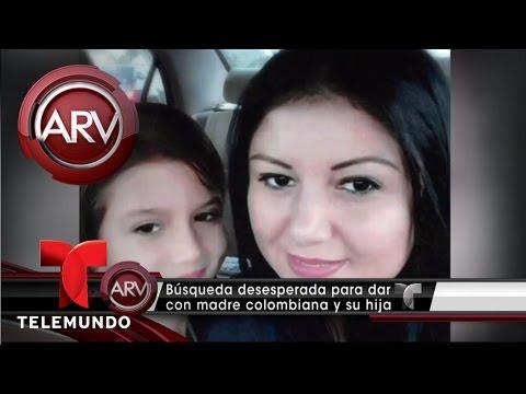 Desaparecen una madre y su hija de 9 años en Miami | Al Rojo Vivo | Telemundo