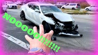 SHE WRECKED/TOTALED MY MASERATI!!!