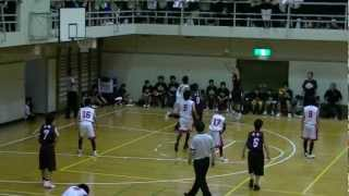 2012 福山市春季総体中学バスケ決勝 松永vs鷹取 4