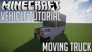 Minecraft: How to Make Moving Truck