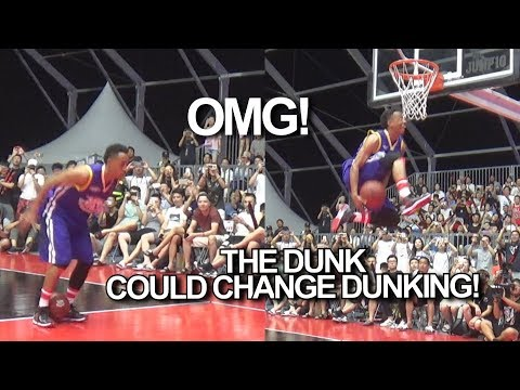 The Dunk that could CHANGE DUNKING   Insane Dunk Attempt by Jonathan Clark
