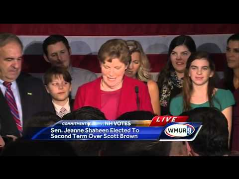 Raw Video: Jeanne Shaheen delivers victory speech