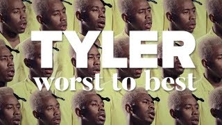 Tyler the Creator Worst to Best