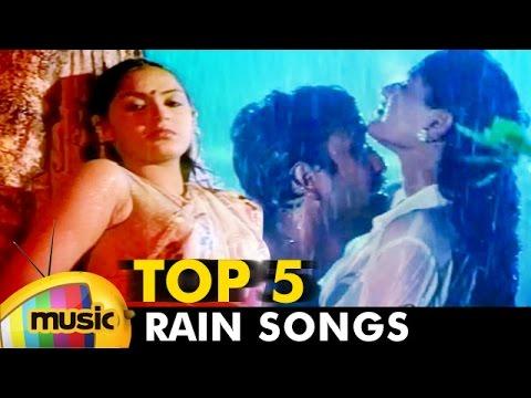 Top 5 Tamil Rain Songs | Video Jukebox | Back To Back Tamil Hits | Mango Music Tamil