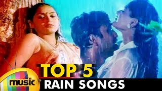 Top 5 Tamil Rain Songs | Video Jukebox | Back To Back Tamil Hits | Mango Music Tamil