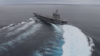 Drifting An Aircraft Carrier
